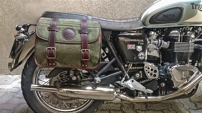 Borse A Tracolla Per Moto : Borsa da moto tracolla verde militare per bonneville